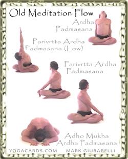 vinyasa flow triangle