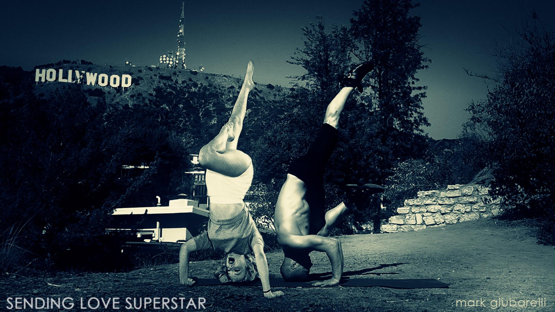 marilyn monroe yoga in hollywood
