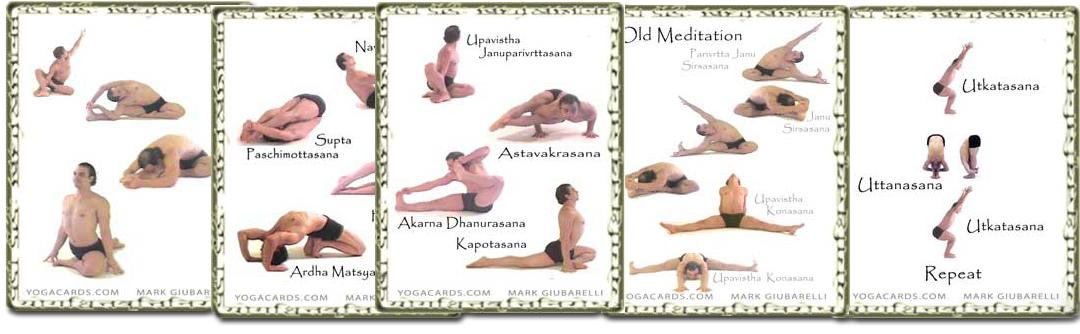 vinyasa yoga cards