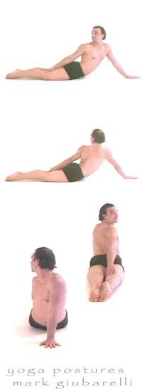 revolved cobra yoga pose bhujangasana