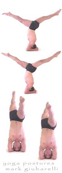headstand pose sirsasana