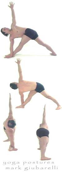 Parivrtta Trikonasana Revolved Triangle