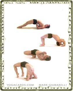 vinyasa yoga bridge