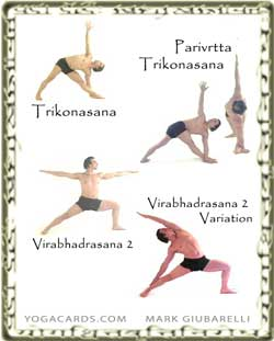 yoga warrior poses sequence