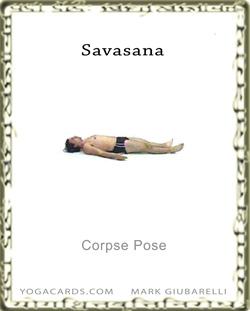 savasana ancient corpse yoga posture