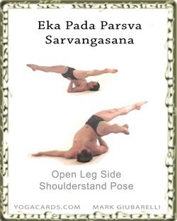 sarvangasana side open